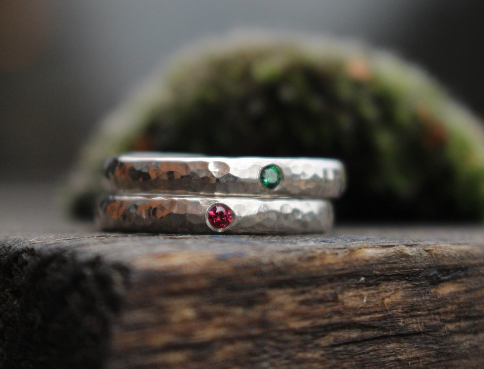 Solid Silver Birthday Ring Workshop