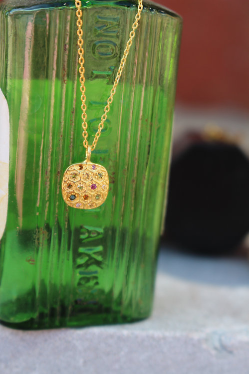 Gold Moroccan Necklace