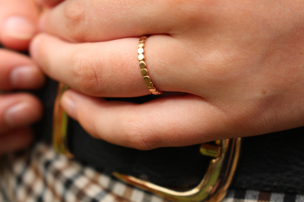 Dotty Stackable Ring