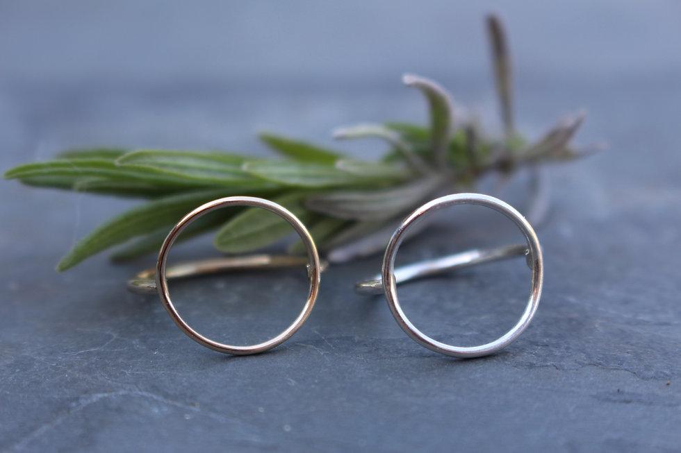 Circle Open Ring