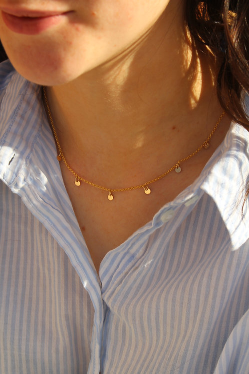 Sequin Chain Necklace