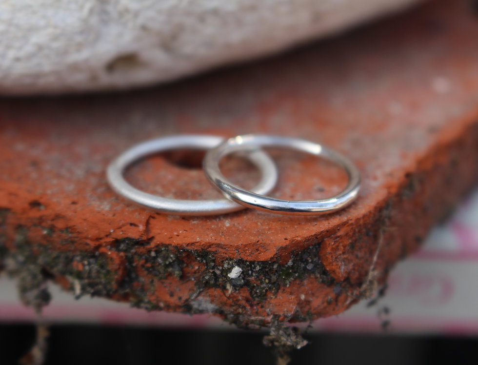 Silver Stackable Spacer Ring