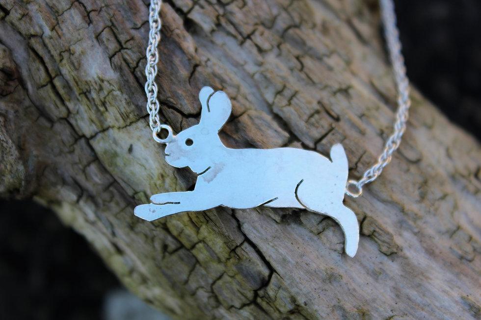 Silver Bunny Bracelet