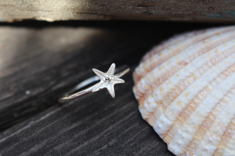 Starfish Stackable Spacer Ring