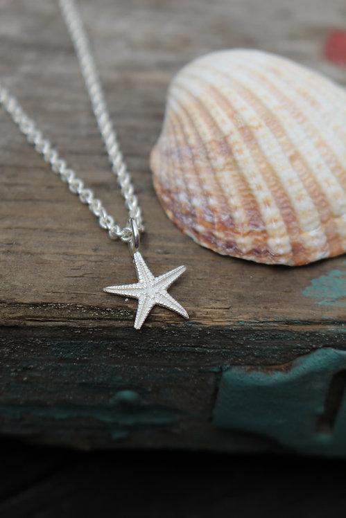 Tiny Starfish Necklace