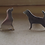 Thumbnail: Silver  Personalized Dog Breed Cufflinks