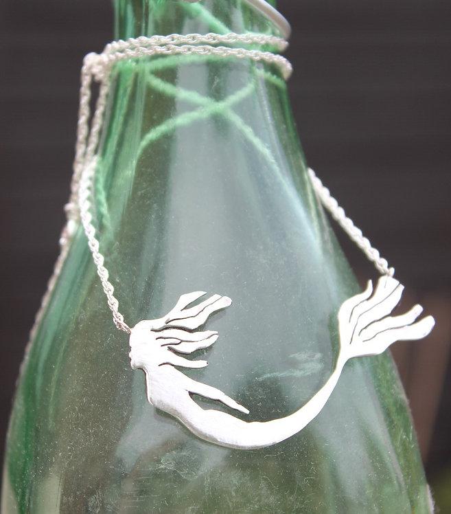 Silver Mermaid Necklace