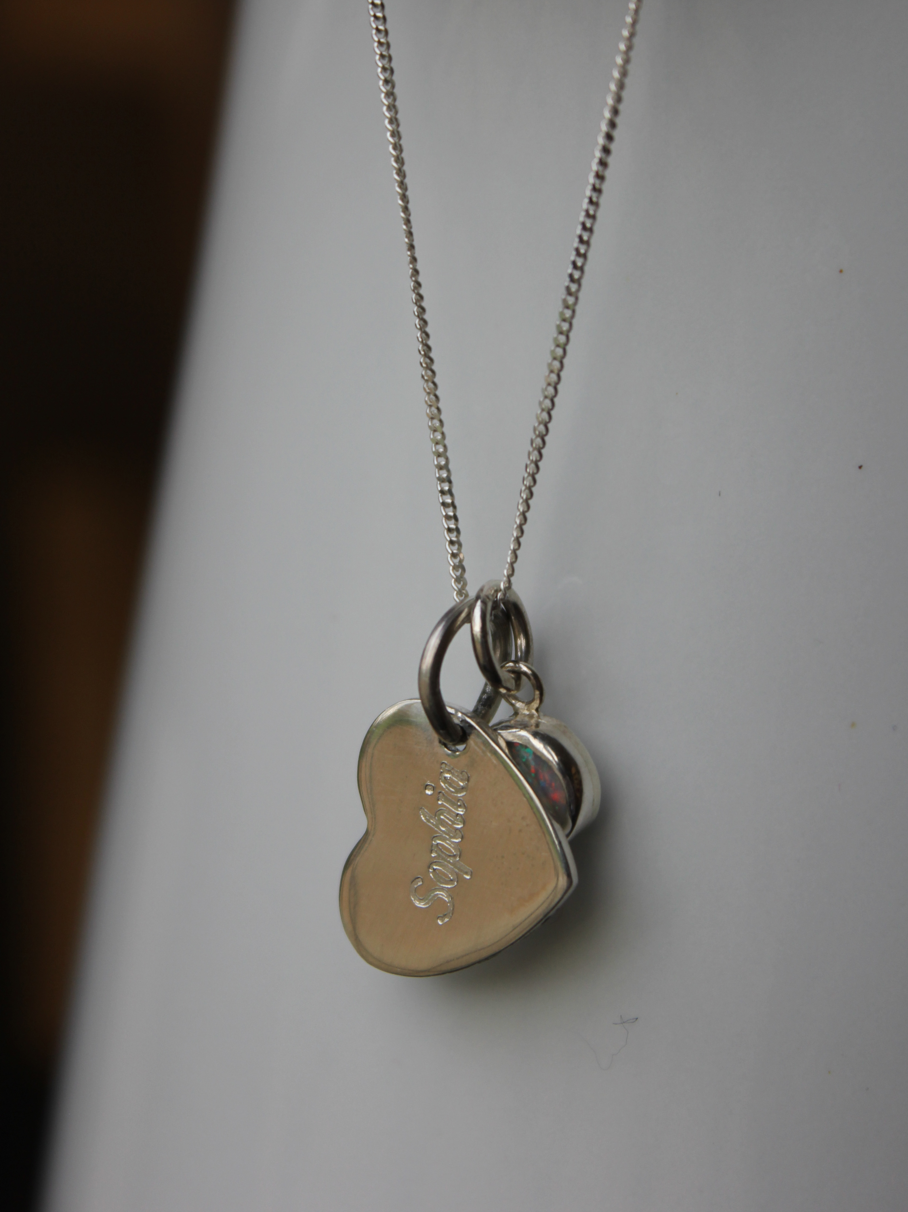 B-Jewellery birthstone pendan2t