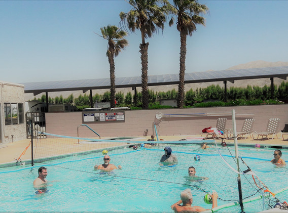 Pool Water Volleyball