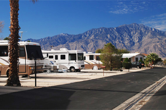 Large RV Lots, Mountain View