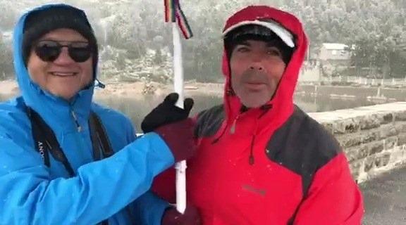 [GTP-GR10 la reco] Départ J5 sous la neige!