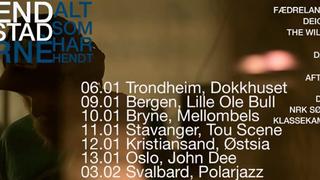 Turné med Erlend Ropstad