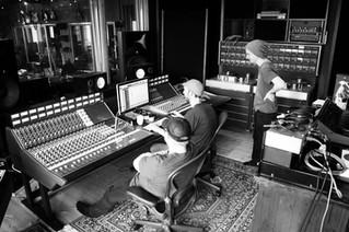 Back in the studio med Astrid Ekern! Ocean Sound Recordings <3
