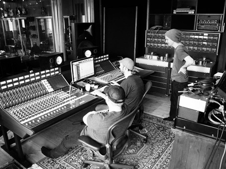 Back in the studio med Astrid Ekern! Ocean Sound Recordings <3