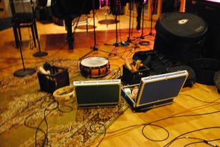 Falkevik in studio