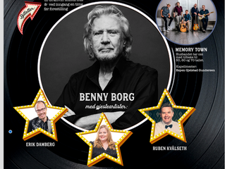 Benny Borg til Granvin kulturhus. Kjøp bilett nå!