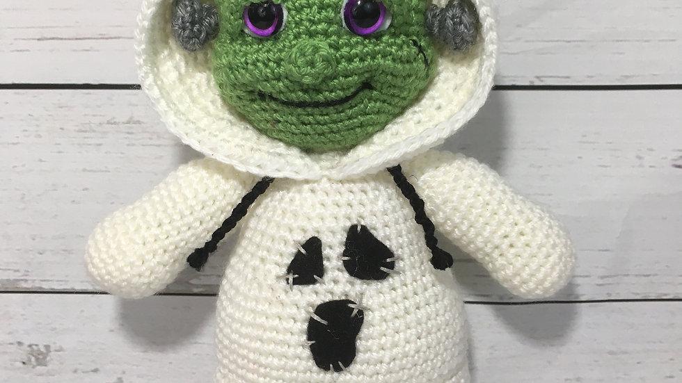 PJ Pals: Freddie Frankenstein Crochet Pattern