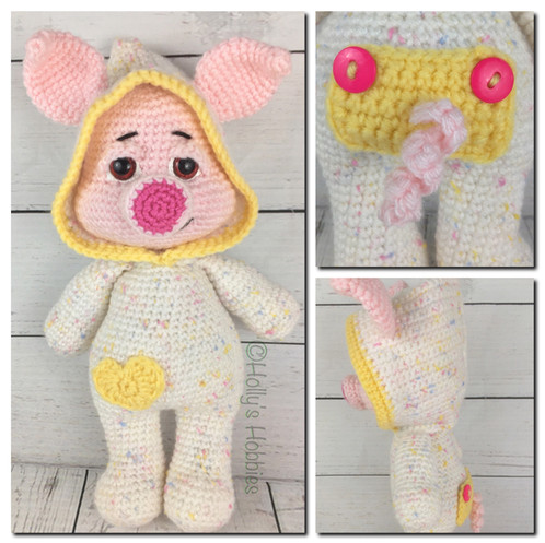 Pj Pals Pinkerton Pig Crochet Pattern