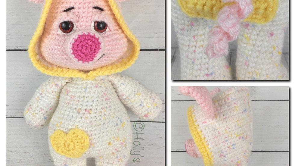 PJ Pals: Pinkerton Pig Crochet Pattern