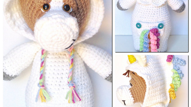 PJ Pals: Charlie Horse Crochet Pattern