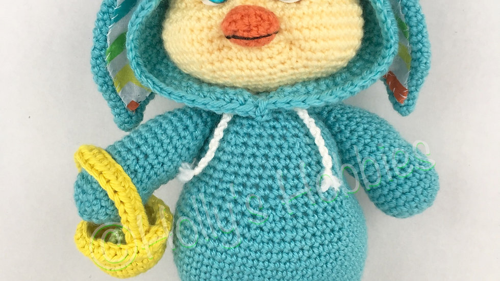 PJ Pals: Chester Chick Crochet Pattern
