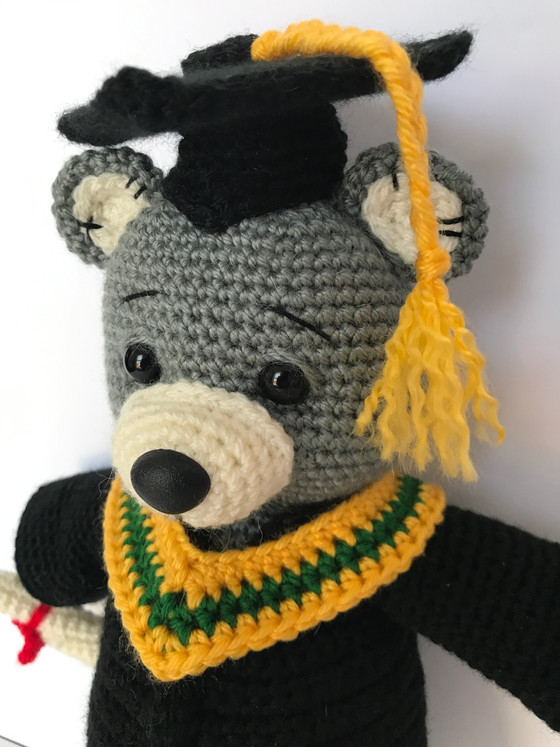 New Pattern Release: Graduation Teddy