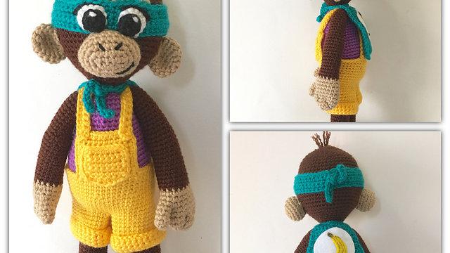 Super Bebe Bananas Crochet Pattern