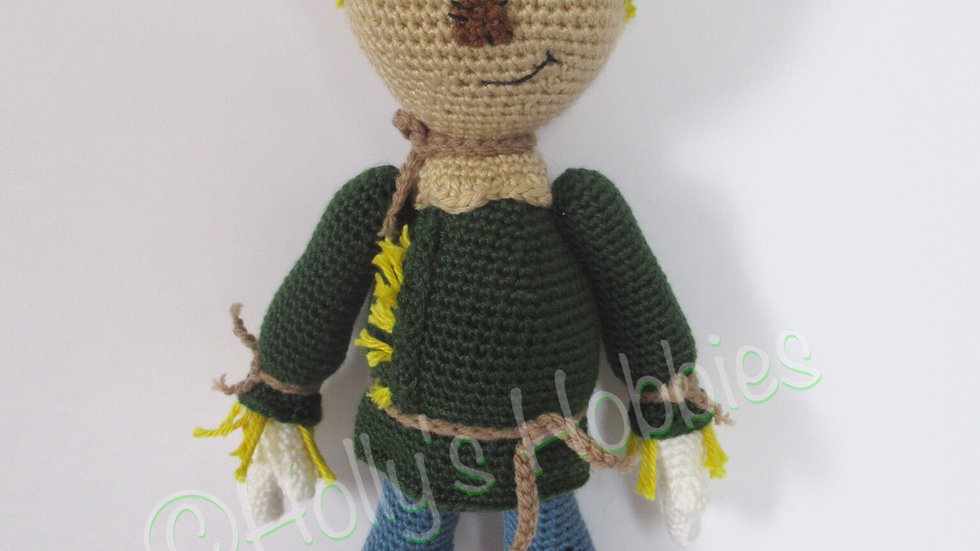 Wonderful World of Oz: Scarecrow Crochet Pattern