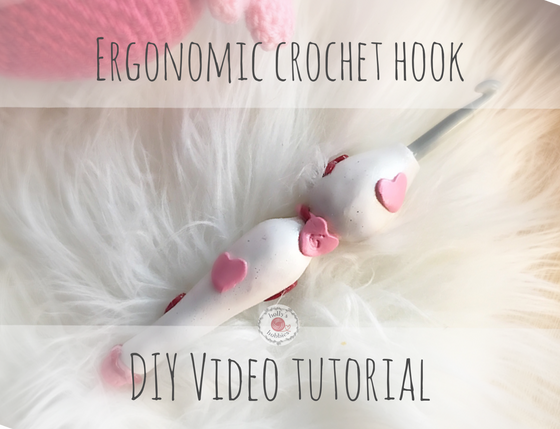 DIY: Valentines Ergonomic Crochet Hook