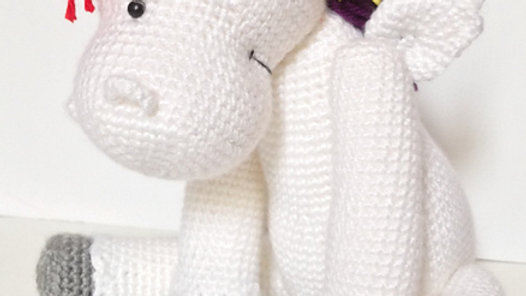 Starburst the Unicorn Crochet Pattern