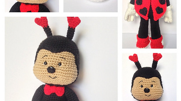 Lucky Love Bug Crochet Pattern