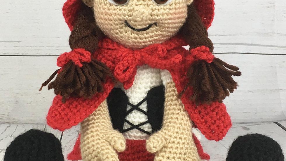 Little Red Riding Hood Crochet Pattern