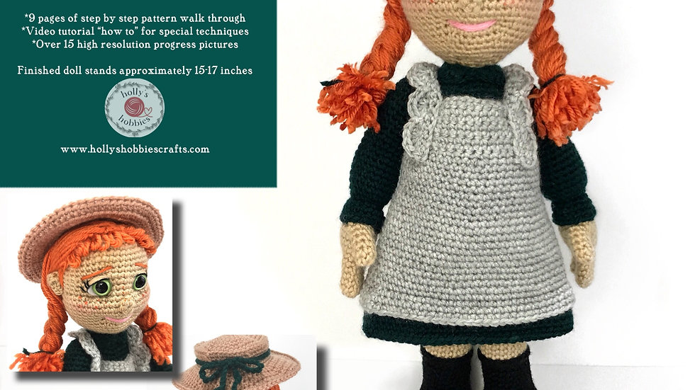 Anne of Green Gables Crochet Pattern