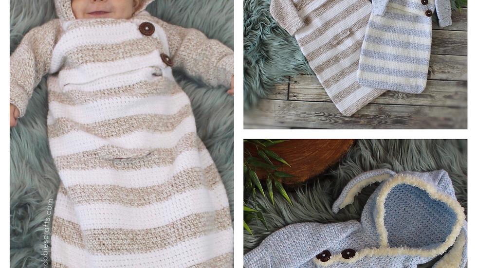 Baby Bunting Sack: Crochet Pattern