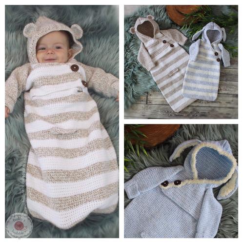 Baby Bunting Sack Crochet Pattern