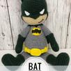 Bat Superhero: FREE Crochet Pattern