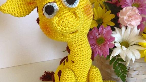 Paisley Giraffe Crochet Pattern