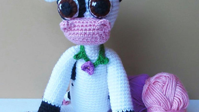 Maggie Moo Cow Crochet Pattern