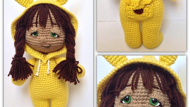 PJ Pals: Poké Girl Crochet Pattern