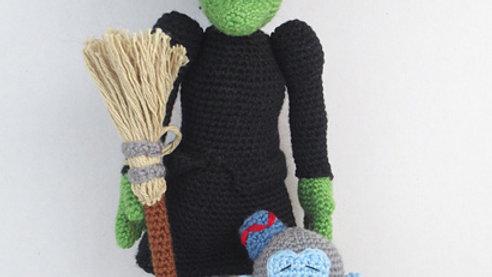 Wonderful World of Oz: Wicked Witch Crochet Pattern