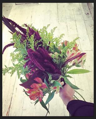#bouquet practice