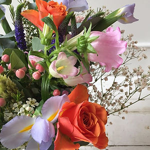 @lazy_london_mum monthly bouquet order.