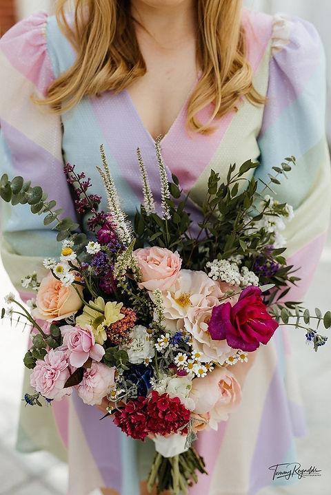Nathalie & Aaron wedding bouquet 2020