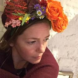 Flower headbands for tonight's bonfire �