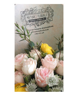 Bespoke Bouquets for subscription by Nature's Florals