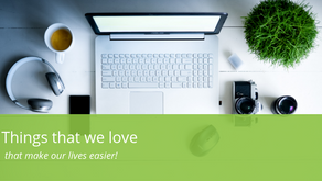 Things we LOVE that make our lives easier!