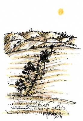 LANDSCAPE 2. Drawing