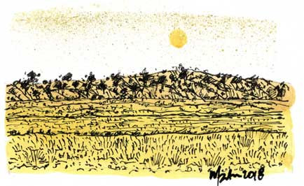 LANDSCAPE 1. Drawing