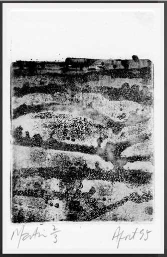 UNTITLED  Etching and aquatint