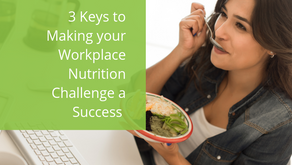 3 Keys to Making your Workplace Nutrition Challenge a Success